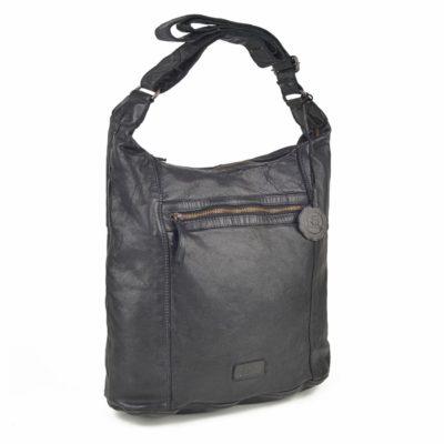 Kožená kabelka černá – NB 2005 C