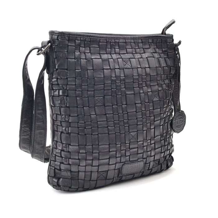 Kožená kabelka černá – NB 2013 C