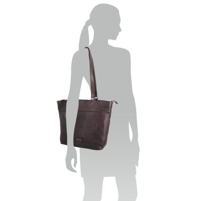 Kožená kabelka Noelia Bolger – NB 2042 H