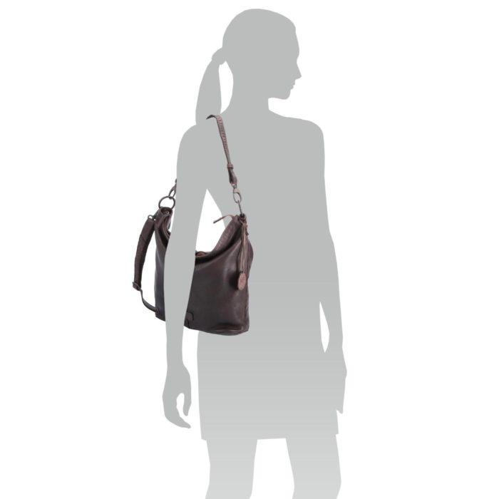 Kožená kabelka Noelia Bolger – NB 2043 H