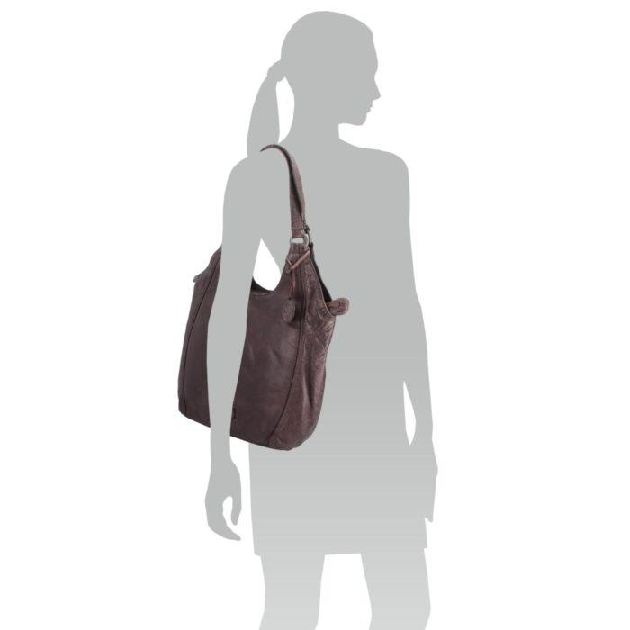 Kožená kabelka Noelia Bolger – NB 2044 H