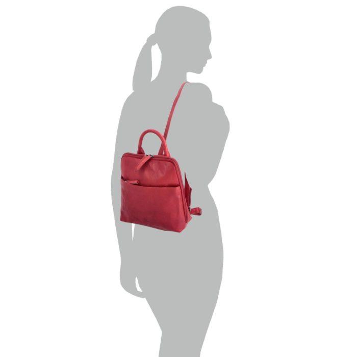 Kožený batoh Poyem – 2215 AND CV