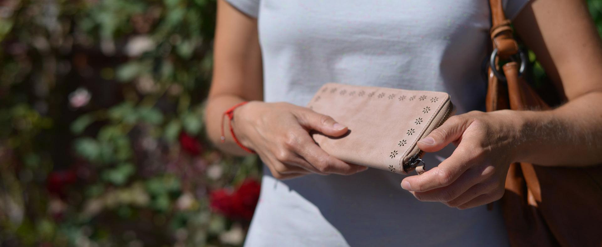 Nové  kožené peňaženky