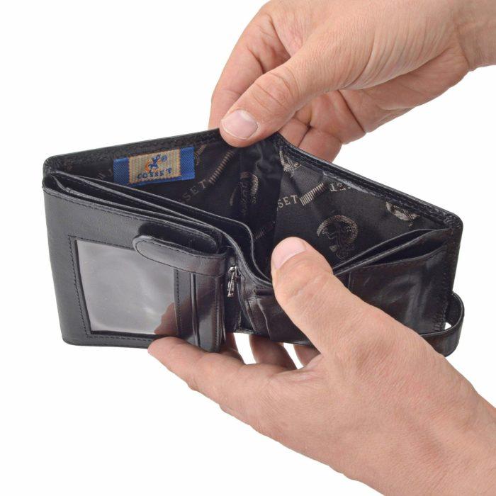 Kožená peňaženka Cosset – 4408 Komodo C