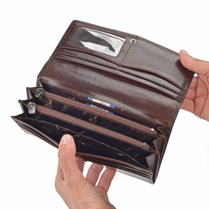 Kožená peňaženka Cosset – 4466 Komodo H