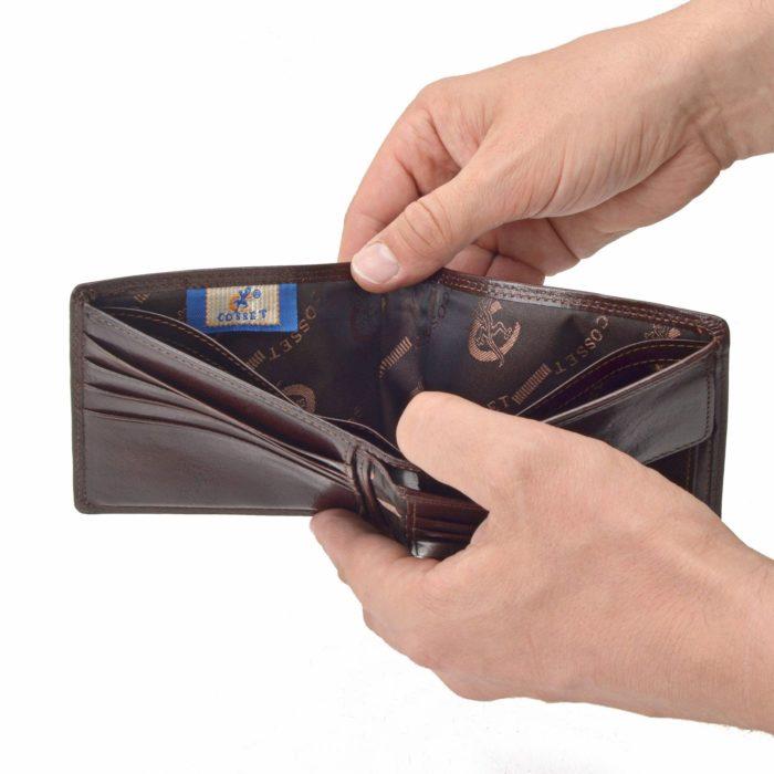Kožená peňaženka Cosset – 4502 Komodo H