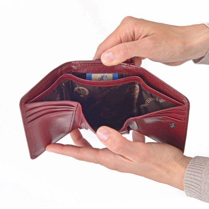 Kožená peňaženka Cosset – 4509 Komodo B