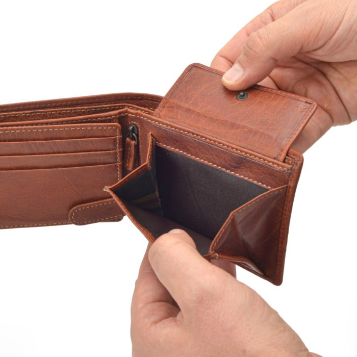 Kožená peňaženka Poyem – 5222 AND KO