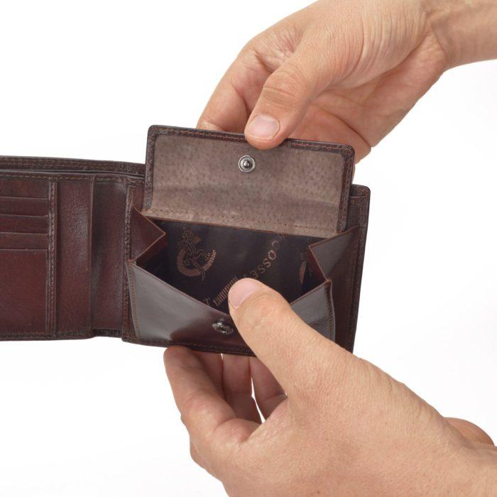 Kožená peňaženka Cosset – 4460 Komodo H