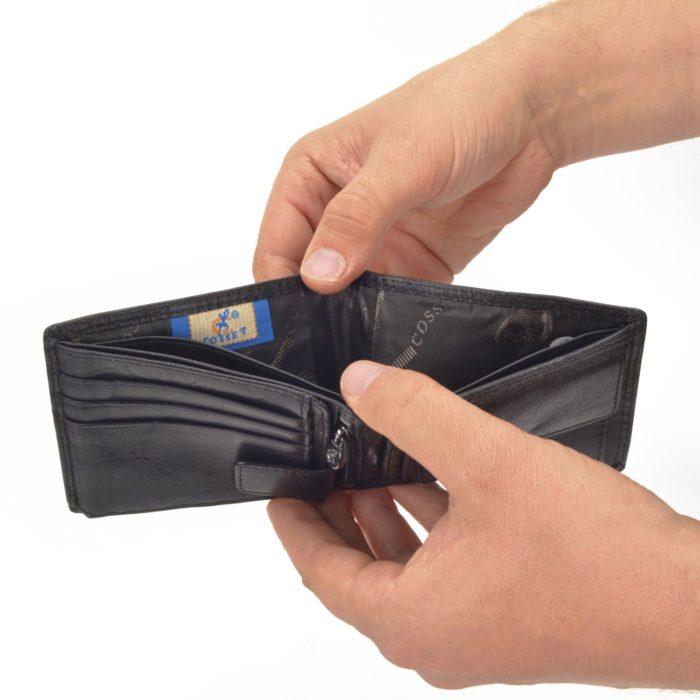 Kožená peňaženka Cosset – 4503 Komodo C