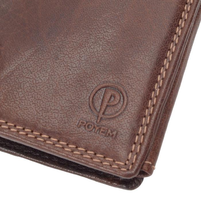Kožená peňaženka Poyem – 5207 AND H