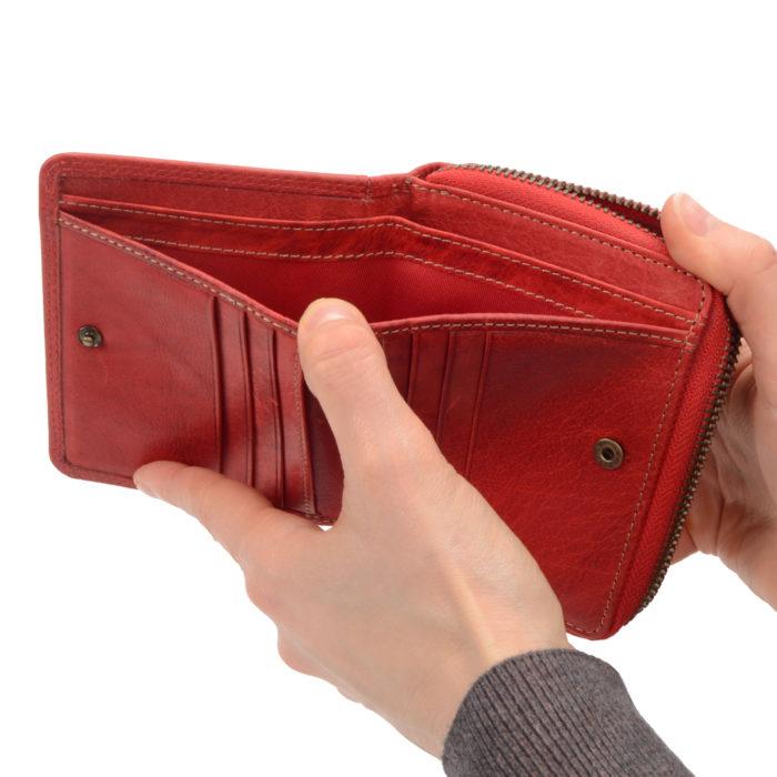 Kožená peňaženka Poyem – 5217 AND CV